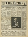 The Echo: April 12, 1991 by Taylor University