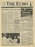 The Echo: October 4, 1991 by Taylor University
