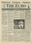 The Echo: October 25, 1991 by Taylor University