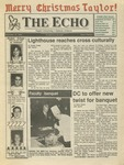 The Echo: December 13, 1991 by Taylor University