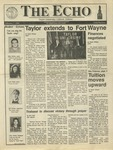 The Echo: February 7, 1992 by Taylor University