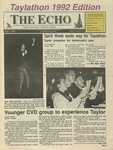 The Echo: May 1, 1992 by Taylor University