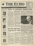 The Echo: May 15, 1992 by Taylor University
