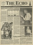 The Echo: October 9, 1992 by Taylor University