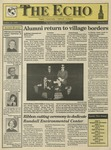 The Echo: October 16, 1992 by Taylor University