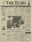 The Echo: October 23, 1992 by Taylor University