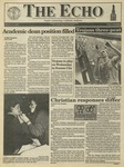The Echo: March 12, 1993 by Taylor University
