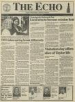 The Echo: April 2, 1993 by Taylor University