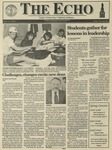 The Echo: April 16, 1993 by Taylor University