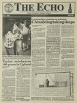 The Echo: October 1, 1993 by Taylor University