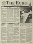The Echo: October 8, 1993 by Taylor University