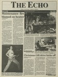 The Echo: November 19, 1993 by Taylor University