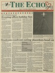 The Echo: December 10, 1993 by Taylor University