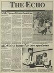 The Echo: April 15, 1994 by Taylor University