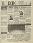 The Echo: March 10, 1995 by Taylor University