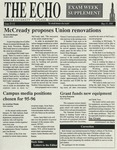 The Echo: May 15, 1995 by Taylor University