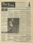 The Echo: September 1, 1995 by Taylor University
