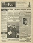 The Echo: September 8, 1996 by Taylor University
