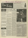 The Echo: October 6, 1995 by Taylor University