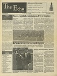 The Echo: October 13, 1995 by Taylor University
