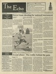 The Echo: November 10, 1995 by Taylor University