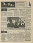 The Echo: November 17, 1995 by Taylor University