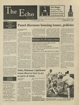 The Echo: February 16, 1996 by Taylor University