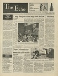 The Echo: February 23, 1996 by Taylor University