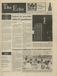 The Echo: March 15, 1996 by Taylor University