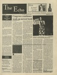 The Echo: March 22, 1996 by Taylor University