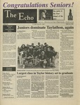 The Echo: May 10, 1996 by Taylor University