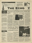 The Echo: October 4, 1996 by Taylor University