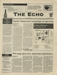 The Echo: November 1, 1996 by Taylor University