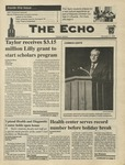 The Echo: December 6, 1996 by Taylor University