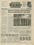 The Echo: February 14, 1997 by Taylor University