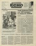 The Echo: April 18, 1997 by Taylor University