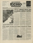 The Echo: October 10, 1997 by Taylor University