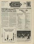 The Echo: November 14, 1997 by Taylor University