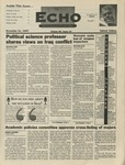 The Echo: November 21, 1997 by Taylor University
