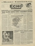 The Echo: December 12, 1997 by Taylor University