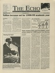 The Echo: February 13, 1998 by Taylor University