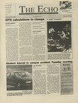 The Echo: February 20, 1998 by Taylor University