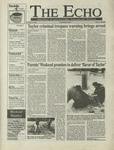 The Echo: October 9, 1998 by Taylor University