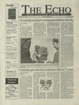 The Echo: November 13, 1998 by Taylor University