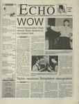 The Echo: November 5, 1999 by Taylor University