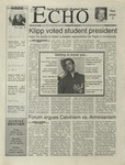 The Echo: March 17, 2000 by Taylor University