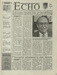 The Echo: April 7, 2000 by Taylor University