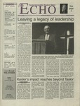 The Echo: May 12, 2000 by Taylor University