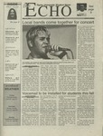 The Echo: May 19, 2000 by Taylor University