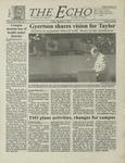 The Echo: September 1, 2000 by Taylor University